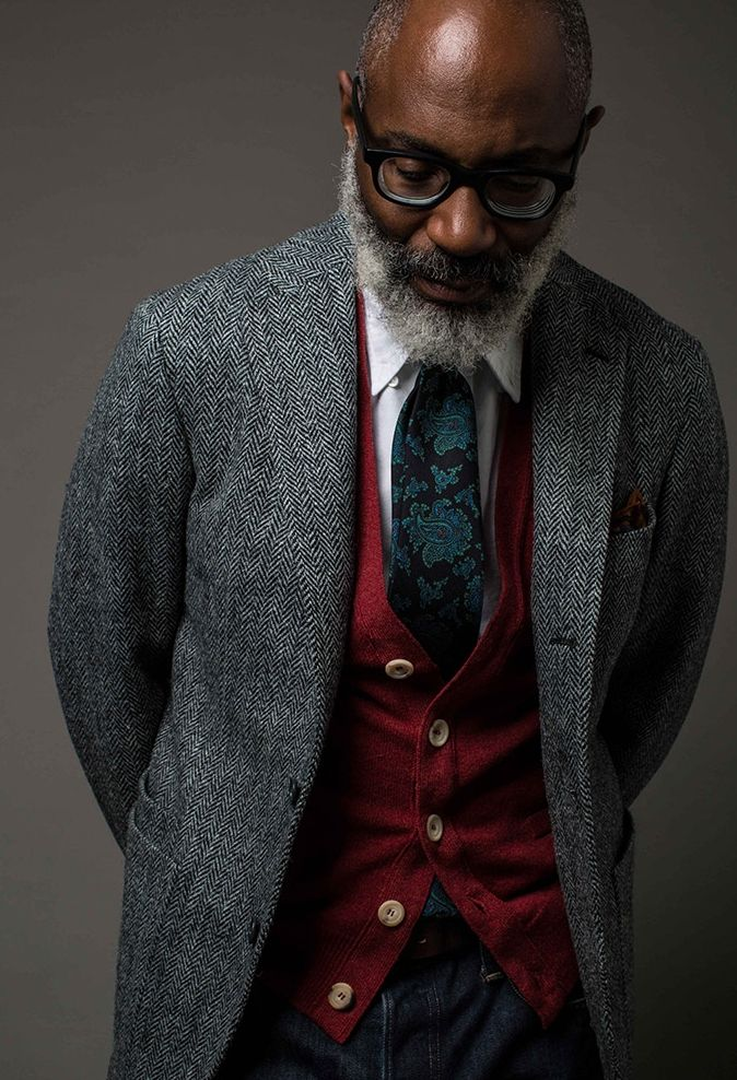 I've always admired well dressed older men -- their years of experience has helped them define and refine their style, having no qualms in what it means to be well dressed. This is the perfect example of dressing to express, not to impress // menswear style + fashion