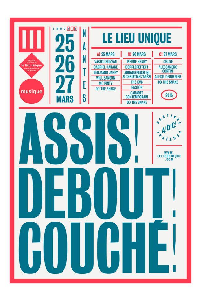 Brest Brest Brest   Assis! Debout! Couché! (Lieu Unique)