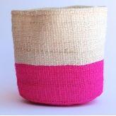 hardtofind. | Nene pink sisal basket