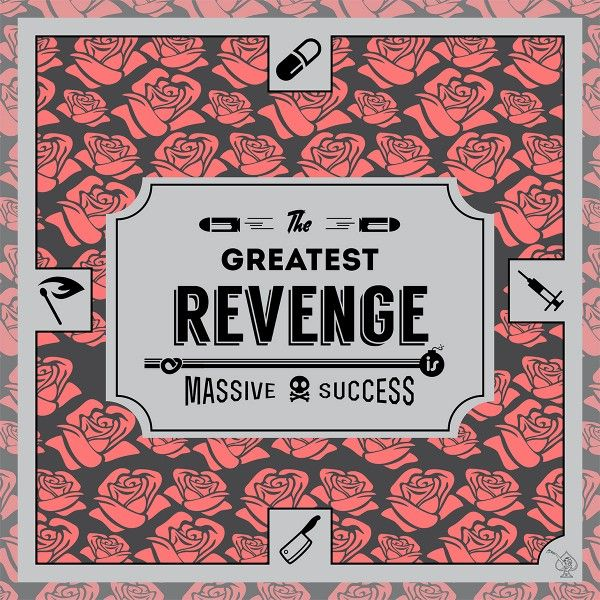 -Revenge- They say the greatest revenge is a huge success. Who says that, Madonna or Marie Curie? Are they the greatest revengers of all time? What da revenge!  Enjoy your scarf 'successfully' designed with elements like an injection full of deadliest poison, a match to catch a fire, a placebo pill to make him/or scared to death, a lovely cleaver, home-made bomb, etc. #ScarfAce #OhMyScarfAce #design #illustration #fashion #Scarf #scarve #desginer #Streetstyle #look #lookbook