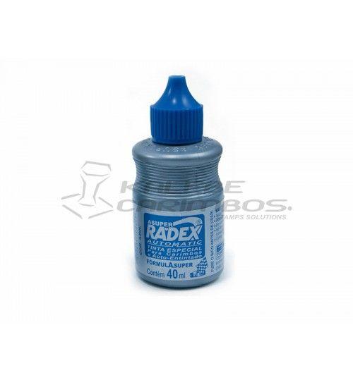 Tinta Radex para Carimbos Automaticos 40ml