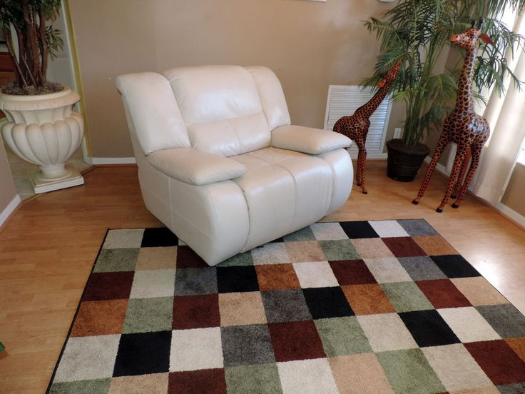 Macy S Franco Cream White Leather Power Reclining Chair We