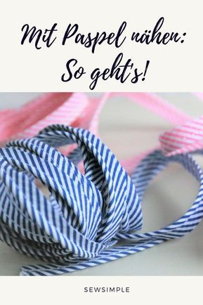 Lange did not dare to sew with piping tape. It looks great g …   – nähen