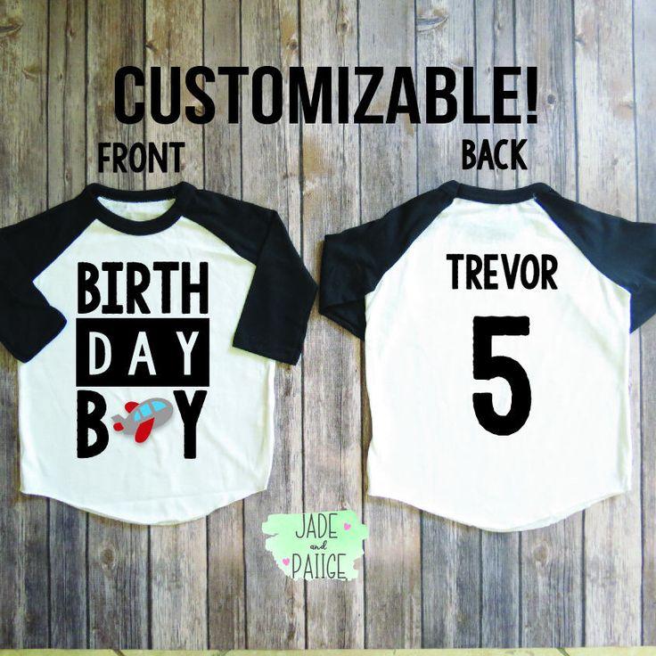 Birthday Boy Shirt, Birthday boy personalized, Toddler boy birthday, Baby boy shirt, boys birthday party, birthday customize shirt by JADEandPAIIGE on Etsy https://www.etsy.com/listing/541384020/birthday-boy-shirt-birthday-boy