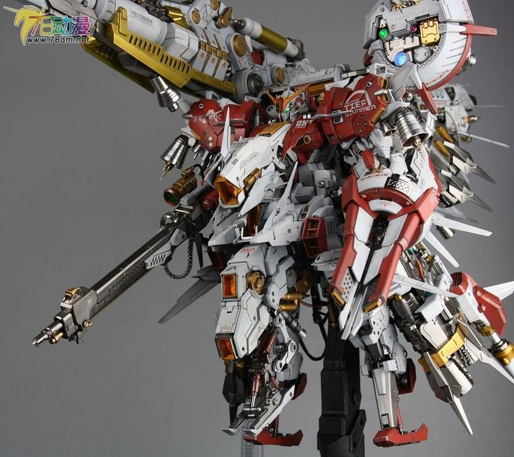 Painted Build: Mechanicore 1/100 PROJ-0033 Tiefsturmer [Deep Striker] - Gundam…