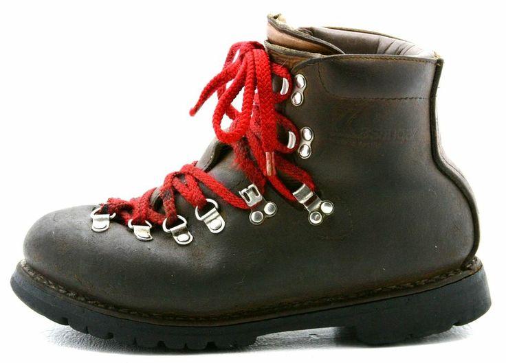 Kastinger mens #mountaineering #boots size 8 M Austrian made brown leather Austria #Kastinger #hiking @eBay