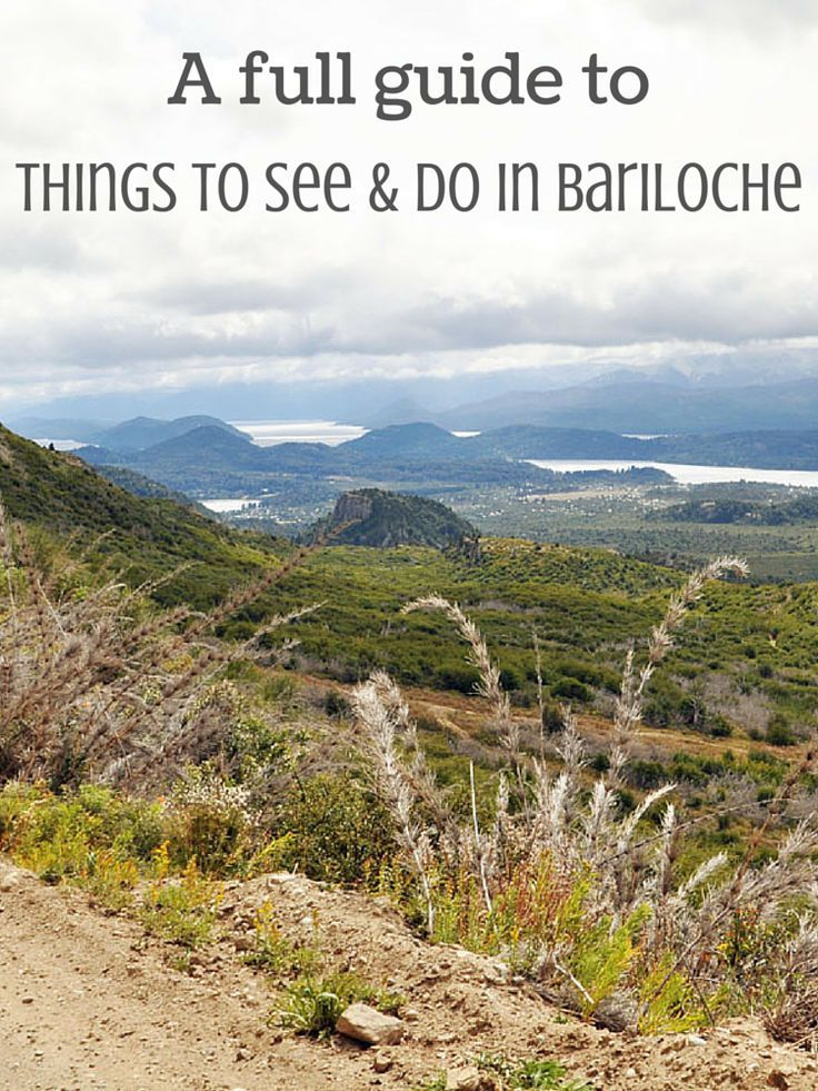 Bariloche in Patagonia: A full guide on things to see and do is now available on the blog!