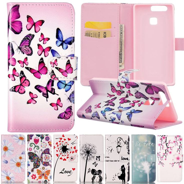 Cheap case cover iphone 4s, Buy Quality case cover for iphone 4 directly from China flip case cover Suppliers: Flip Cover For Huawei P9 P9 Lite Case Covers For Fundas Huawei P9 Lite Case Leather & Silicone Phone Case Cute 3D Painted Wallet