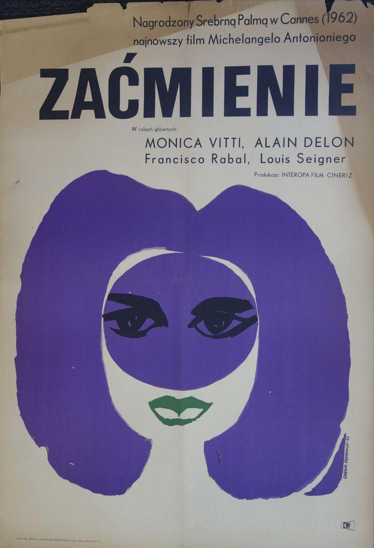 Vintage Polish film poster.