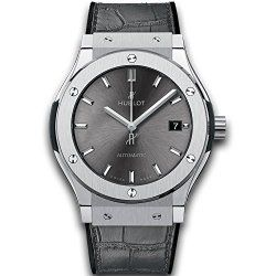 Hublot Mens Classic Fusion Racing Grey Titanium 45mm Watch