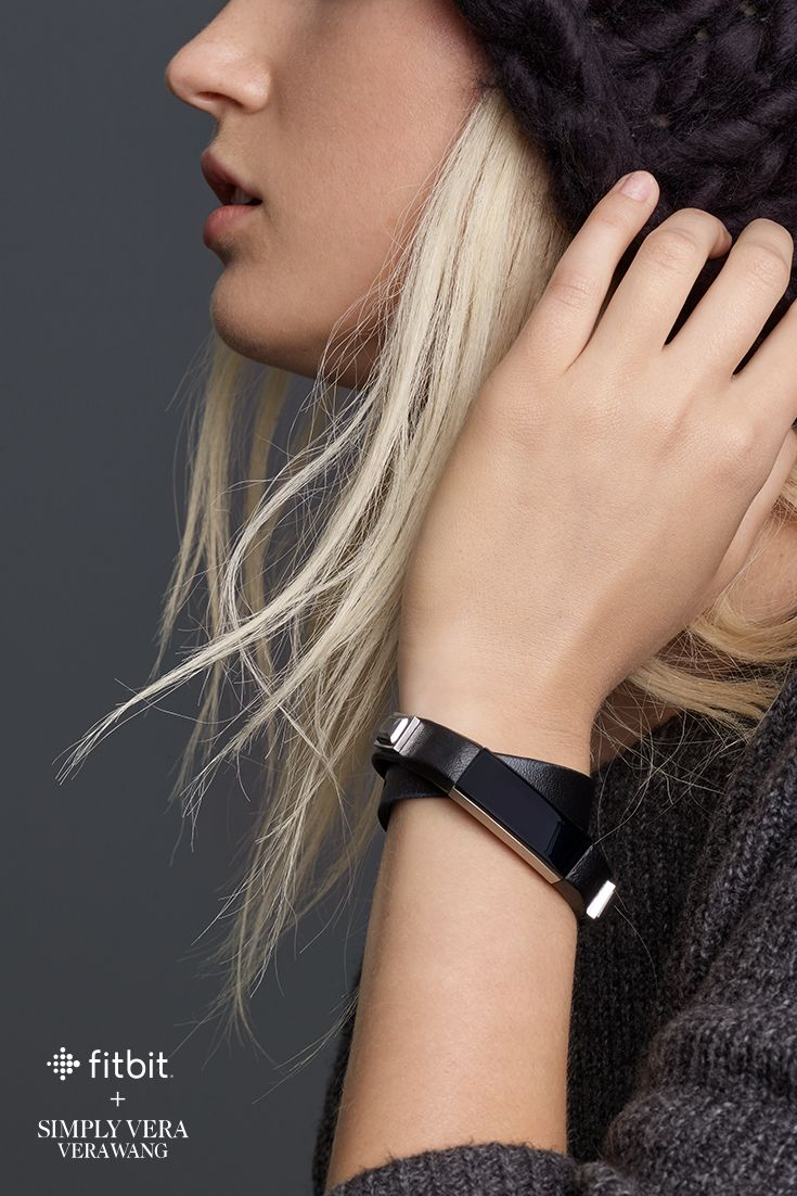 Beautiful design. Everyday living. Accessories by Simply Vera Vera Wang for Fitbit Alta.