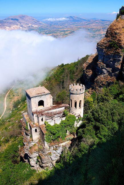 Castello di Venere, Erice, Sicily, Italy