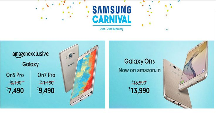 Amazon Samsung Carnival (21-23 Feb) || Great Deals On Samsung Products.