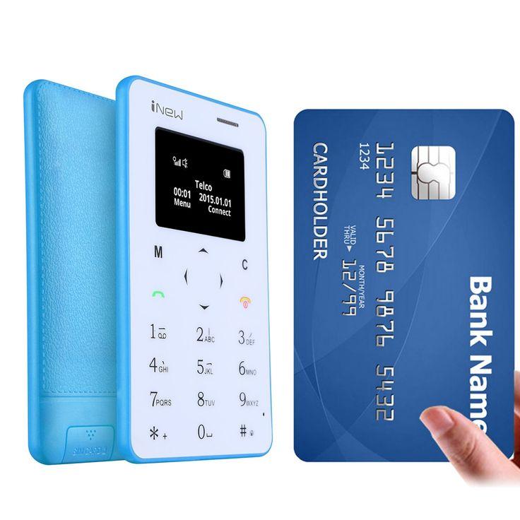 iNew Mini 1, супер тънък телефон с размер на кредитна карта: iNew Mini 1, супер тънък телефон с размер на кредитна карта… www.Sim.bg