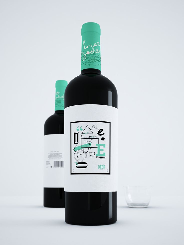 I don't usually enjoy wine branding as much as this one! So fun. Deer wineries