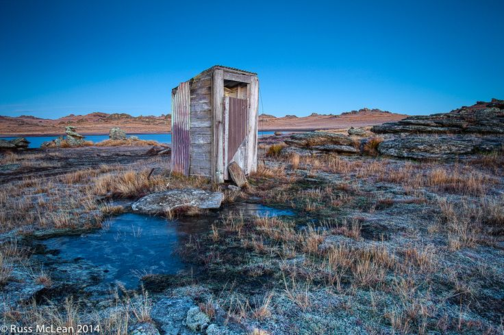"""""""The Dunny"""" at Poolburn Reservoir, Central Otago, New Zealand."""