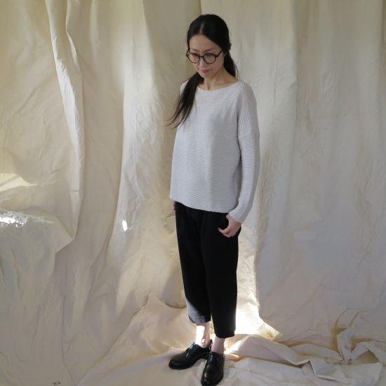 evam eva vie silk wool pullover evam eva