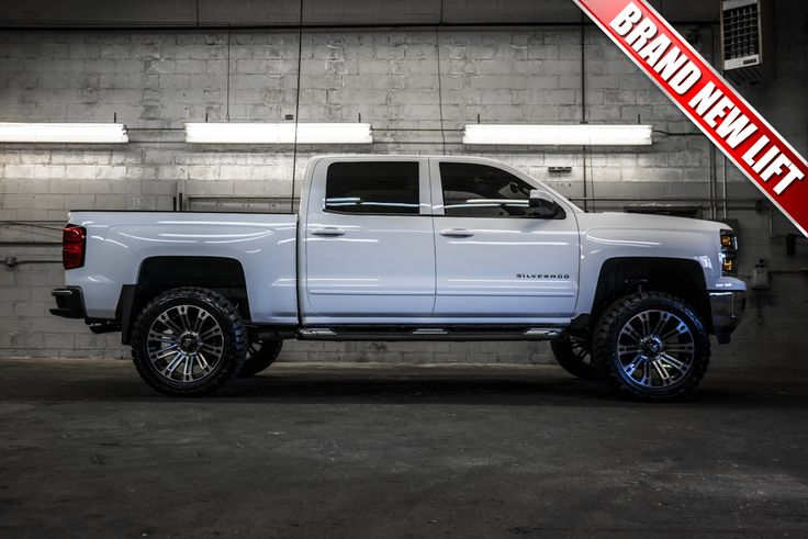"Feast your eyes on this breathtaking 2015 Chevrolet Silverado 1500 4x4 with only one previous owner and a clean Carfax! This elegant, yet aggressive, rig comes fully equipped with a brand new 6"" Fabtech Performance Lift, 22"" XD Brigade Wheels and 35""x12.50 R22 Toyo Open Country MTs off roading tires all of which was installed right here at Northwest Motorsport! Also coming along for the ride is a standard towing package and running boards."