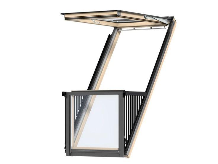 Scarica il catalogo e richiedi prezzi di Cabrio™ By velux, balcone/finestra con apertura a vasistas