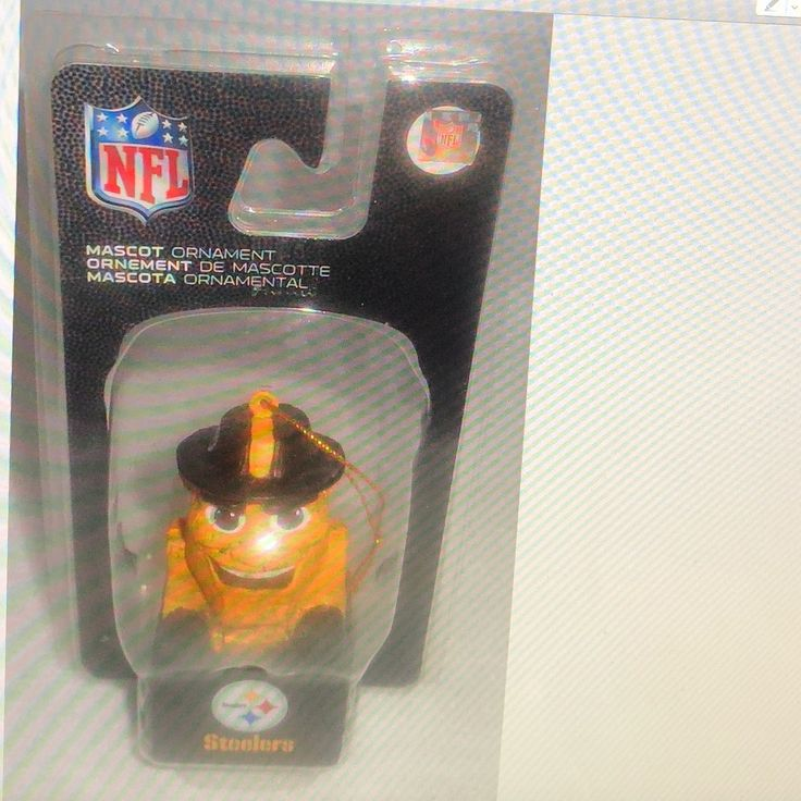 Cool item: pittsburgh steelers Mascot Ornament