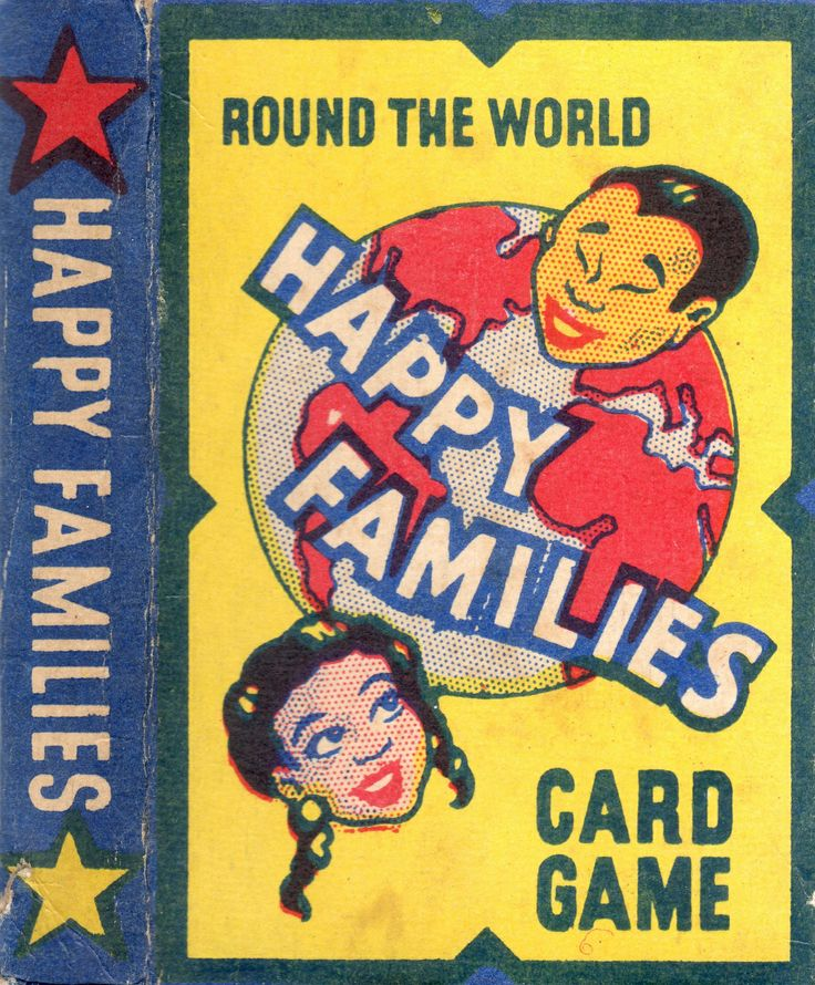 Happy Families - Card Game.
