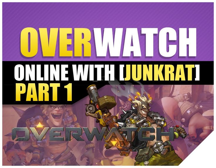 Overwatch PS4 Beta Gameplay MVP Full Match Junkrat Voice and skin is cool . In this video you will see Junkrat Ultimate and I learn some cool tips from using...