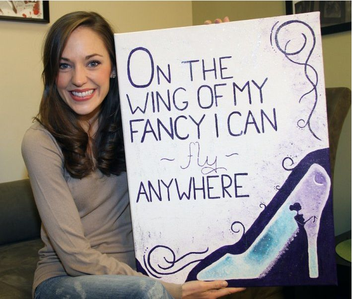 Laura Osnes of Rodgers and Hammerstein's Cinderella shows off her dressing room.    Check out Laura's full interview at broadwayaudience.com