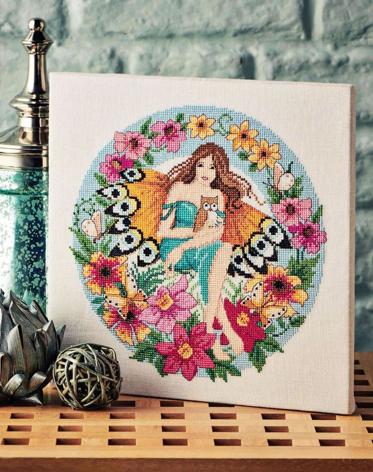Flower Fairy - Project Available in Cross Stitch Collection 253