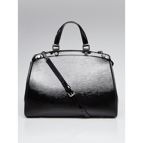 acf2ec8f3b7c ... Pre-owned Louis Vuitton Black Electric Epi Leather Brea GM Bag ( 1