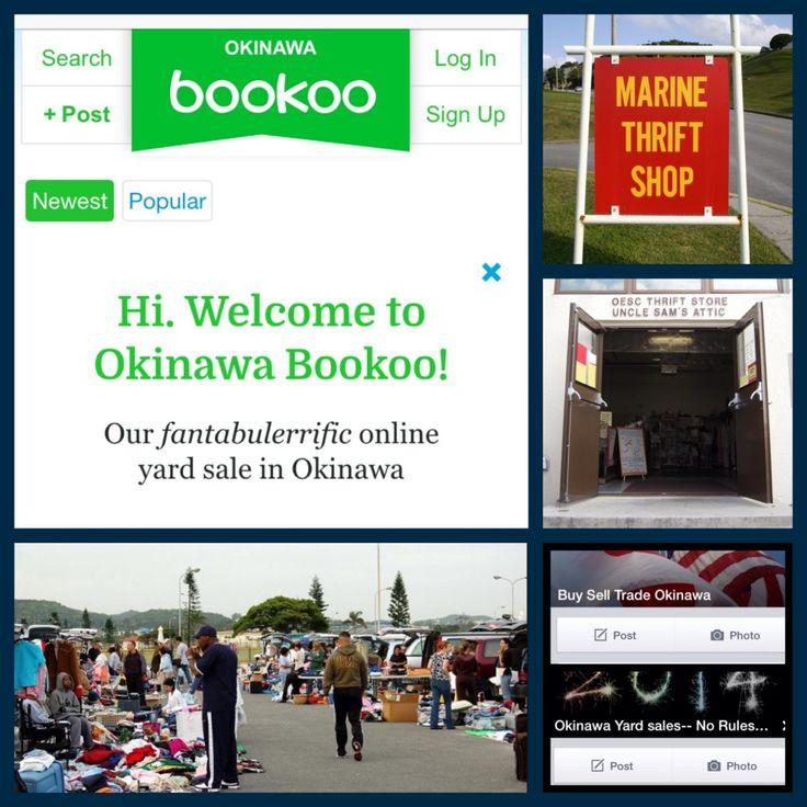 Flea Markets  >> Thrifty Shoppers/Sellers: Okinawa Yard Sales, Facebook ...