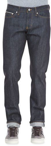 Naked and Famous Denim WeirdGuy Left Hand Indigo Selvage Jeans