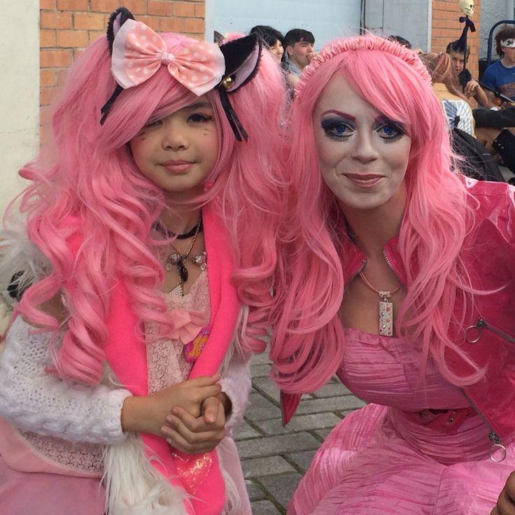 Emma Keira and mini think pink