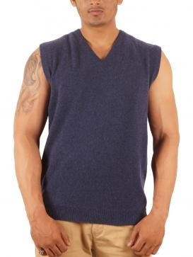 This sleeveless cashmere sweater by Todi will keep you warm throughout the cold days. Visit http://www.designerkapde.com today.
