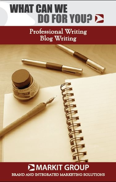 We offer professional writing services. | MIG Graphic Design | Pinter ...
