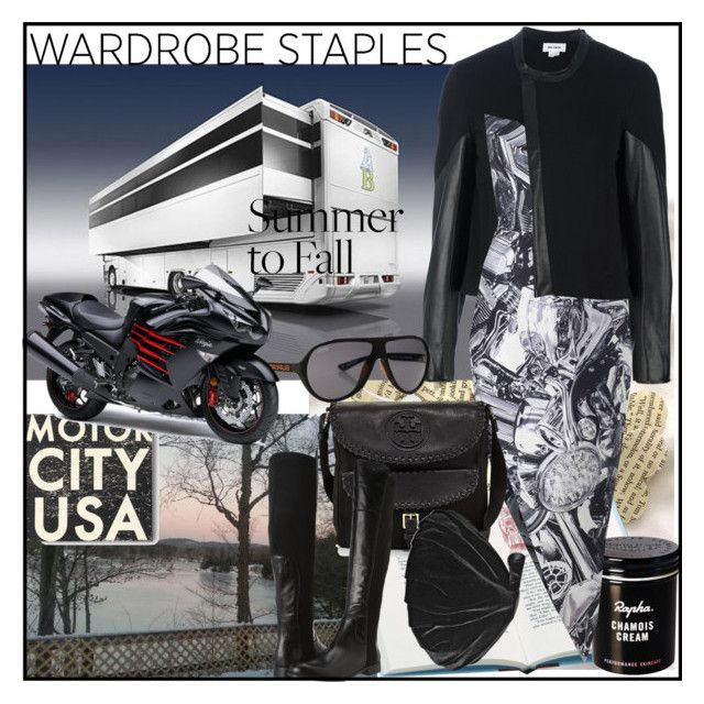 """""""Wardrobe Staple: Leather Jacket"""" by din-sesantadue ❤ liked on Polyvore featuring Helmut Lang, Go Jump in the Lake, Zimmermann, Superdry, Tory Burch, Franco Sarto, Emporio Armani, leatherjacket and WardrobeStaples"""