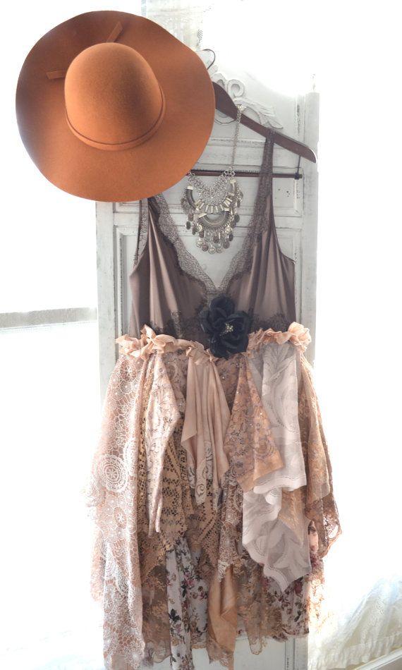 Boho gypsy, boho slip dress, Bohemian cowgirl, Chocolate brown, festival dress, Prom dresses, Party dress, Music festival, festival trends,