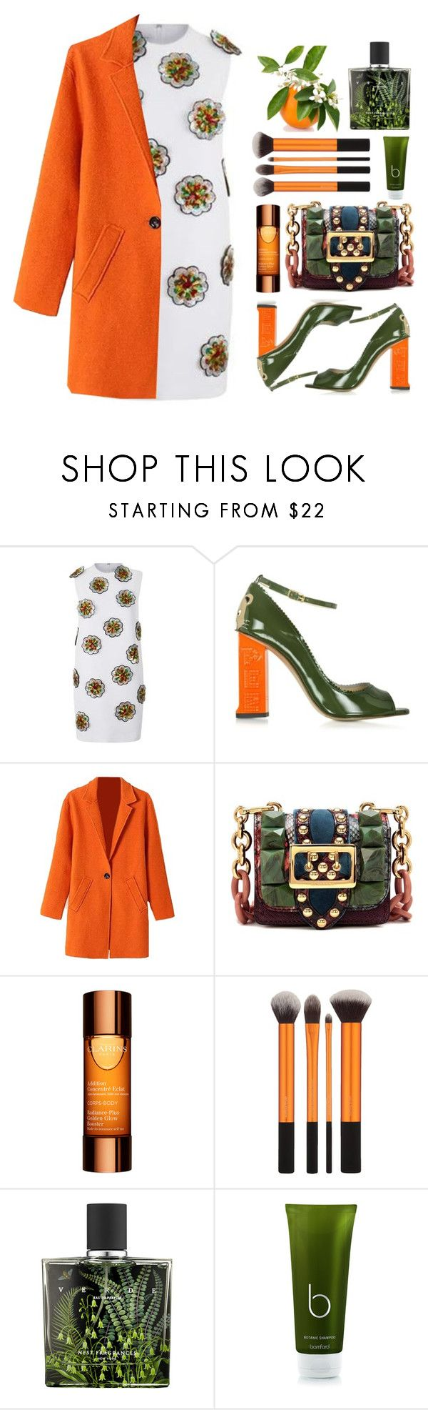 """""""28.12.17-2"""" by malenafashion27 ❤ liked on Polyvore featuring Victoria, Victoria Beckham, Camilla Elphick, Burberry, Clarins, Nest and Bamford"""
