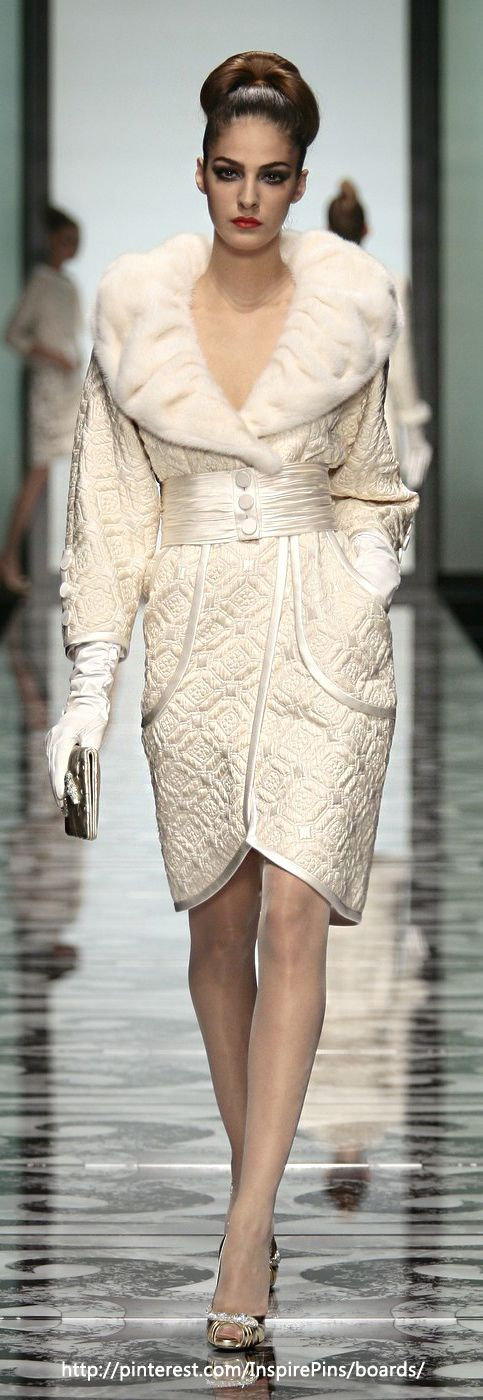 Valentino Couture. Quilting is not just for blankets