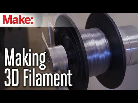 How It Is Made: 3D Printing Filament - YouTube