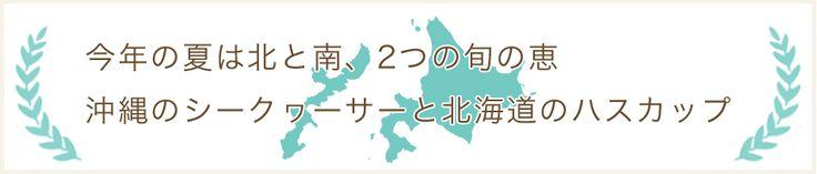 20130702_【楽天24】今年の夏は北と南、2つの旬の恵 沖縄のシークヮーサーと北海道のハスカップ