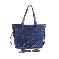 Jeans Donna Borsa Shopper A TRACOLLA RIVETTI IN STRASS con manici: EUR 31,40End Date: 30-ott 11:02Buy It Now for only: US EUR 31,40Buy it…