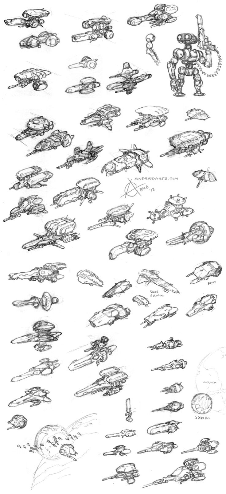 Spaceship design - Spaceship Concepts - Vehicle Design