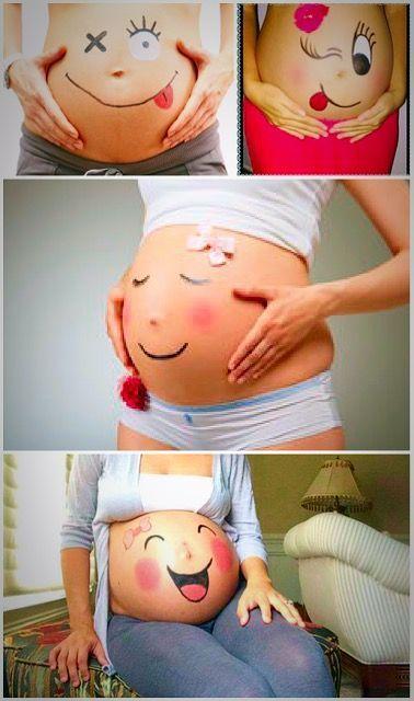 Fun pregnancy pboto ideas