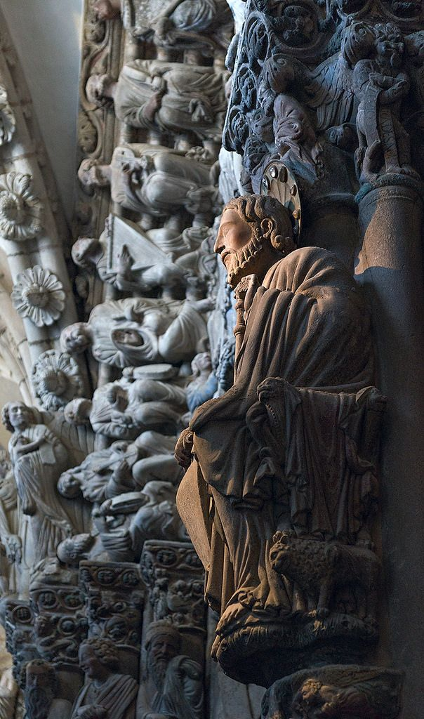 Pórtico de la Gloria, Santiago de Compostela, Spain