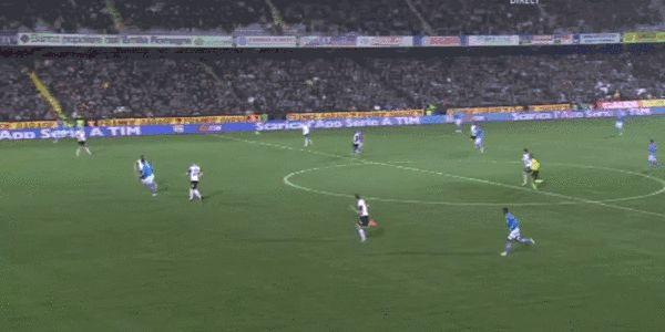 Filmato su soccer scores defender higuain #higuain
