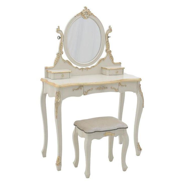 Тоалетна масичка Elegance / #мебели #обзавеждане