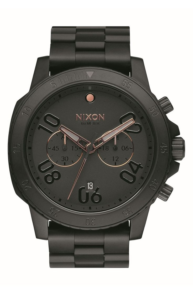 Because Dad likes nice things too, surprising him this sleek, sophisticated Nixon watch for Father's Day.
