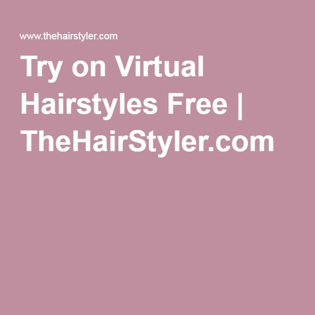 Brilliant 1000 Ideas About Virtual Hairstyles On Pinterest Virtual Hair Short Hairstyles For Black Women Fulllsitofus