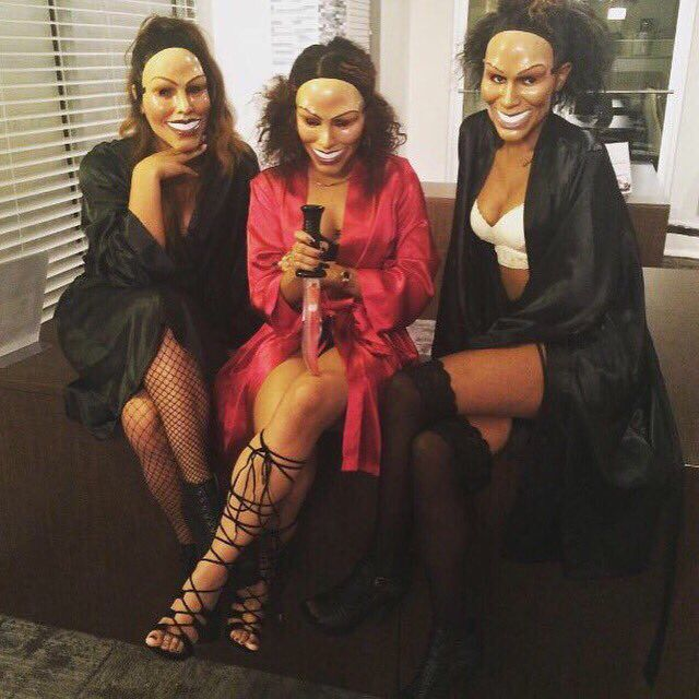 halloween 2k15 purge housewives edition - Halloween Costumes Parties