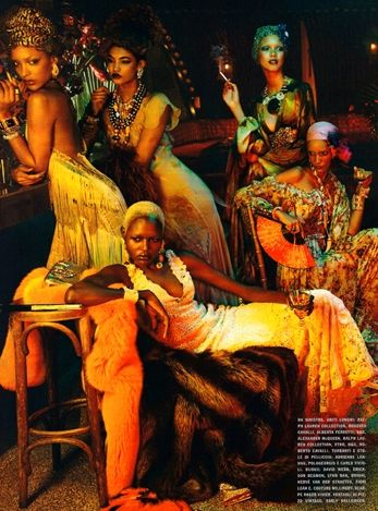 """If you want to know what's considered """"hot"""" in fashion, almost any fashion magazine will do. But if you want to know what's considered """"haute"""" in fashion, only Vogue will do. Vogue Italia recently unveiled their """"Black Allure"""" issue highlighting all the fabulousness known as black women. The photoshoot depicted a high-end Harlem Renaissance feel and was held under the editorial direction of Franca Sozzani, who has been with Vogue Italia for more than 20 years. The spread features several…"""